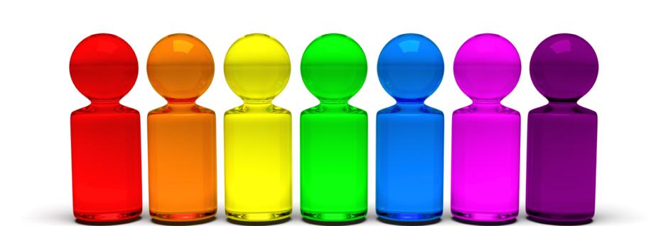 heilen mit Farben